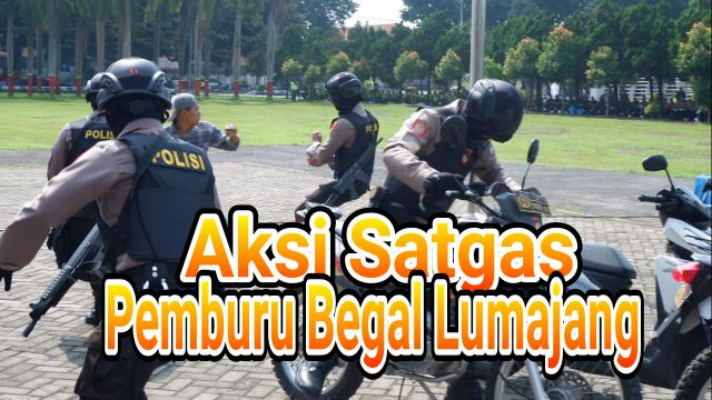 VIDEO : Tim pemburu begal Lumajang