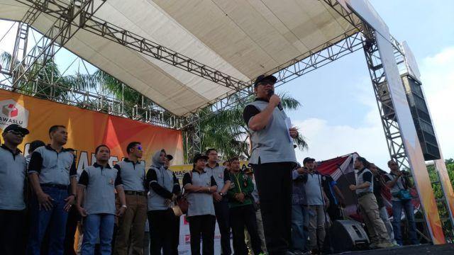 Bawaslu  Ajak Masyarakat Lumajang Tolak Politik Uang Pemilu 2019