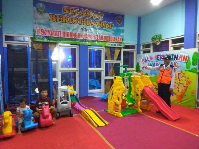 Ada Arena Bermain Anak di Rest Area Terminal Minak Koncar Lumajang
