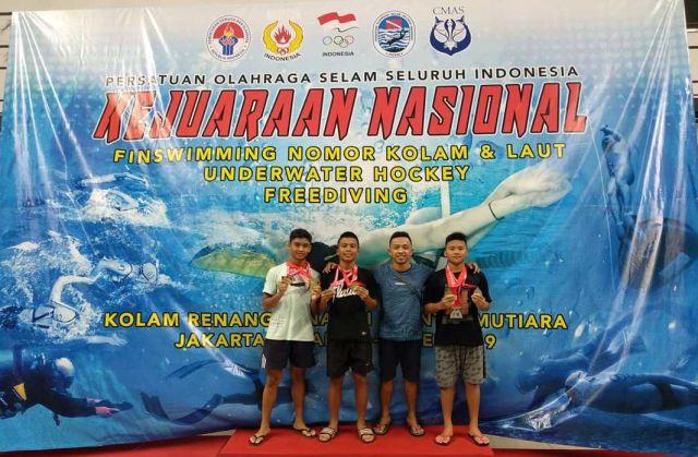 3 Atlet Selam Lumajang Berjaya Bikin Geger Kejurnas di Jakarta
