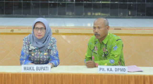Bunda Indah : BPD Harus Dampingi Kades Bekerja Untuk Rakyat