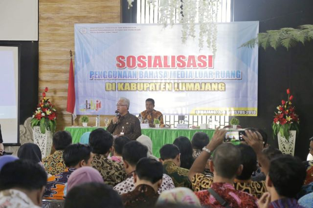 Duh..! Bahasa Indonesia di Lingkungan Pemkab Lumajang Jarang Dipakai