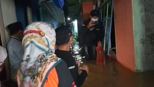 Sungai Kaliasem Lumajang Meluap Ratusan Rumah Terendam Setinggi Dada
