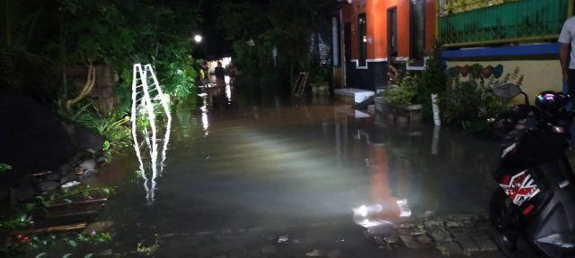Perum Surya Asri Lumajang Terendam Banjir Luapan Sungai