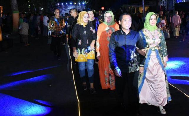 Cak Thoriq Berkomitmen Kenalkan Potensi Batik Lumajang