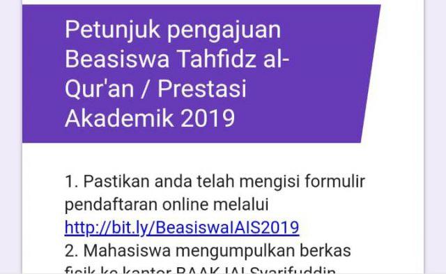 IAI Syarifuddin Lumajang Berikan Beasiswa Calon Mahasiswa Hafal Alquran