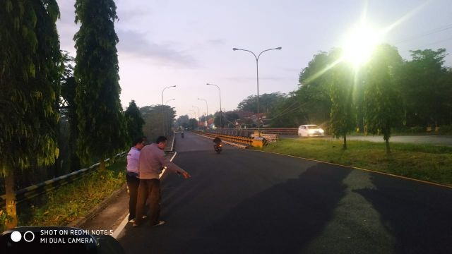Kumat..! Vario Warga Banyuwangi Terbegal di Jembatan Grobogan Lumajang