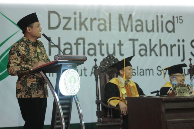 Cak Thoriq : Sarjana IAI Syarifuddin Harus Mampu Bersaing di era 4.0