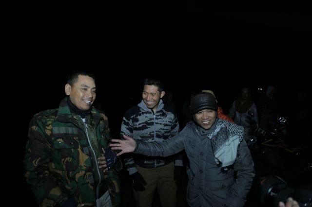 Testimoni Kapolres dan Dandim Lumajang saat berkunjung ke  Puncak B29