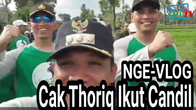 Video : Cak Thoriq Ikut Gerak Jalan CANDIL Bareng Forkopimda Lumajang