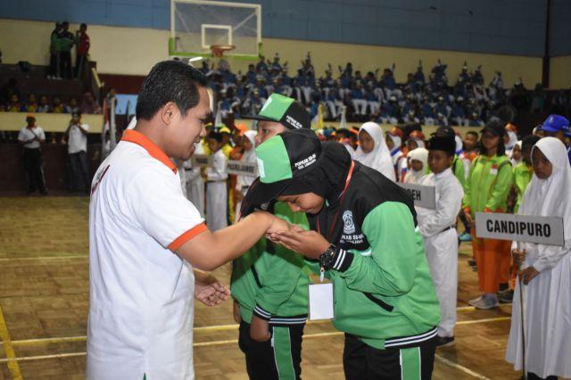 Cak Thoriq Ingin Lahir Atlet Handal di Kompetisi Pelajar Tingkat SD/MI