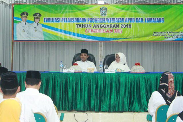 Cak Thoriq Minta OPD Percepat Pembangunan Infrastuktur di Lumajang