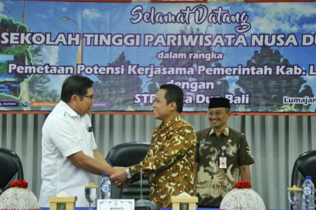 Cak Thoriq Sambut STP Bali Pemetaan Potensi Pariwisata Lumajang