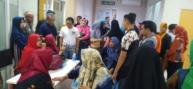 Ada 43 Korban Laka Rombongan Bidan Dirawat di RSUD Haryoto Lumajang