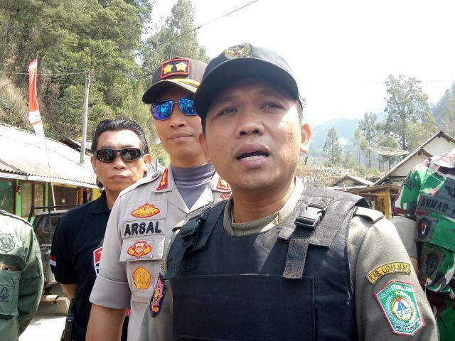Cak Thoriq Berharap Dapatkan Peralatan Memadai Untuk Padam Kebakaran Hutan Semeru
