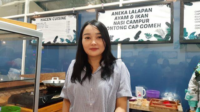 Denik Candra dari Hobi Memasak  Buka Usaha Makanan di Ge eS Foodcourt