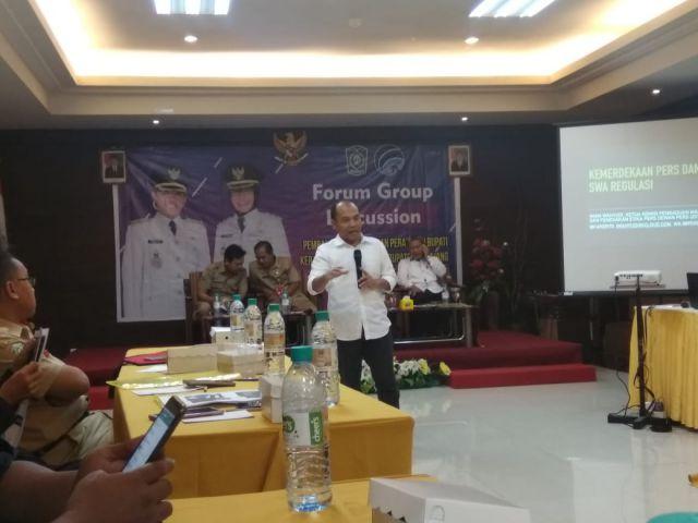Dewan Pers Ajak Wartawan dan Masyarakat Lumajang Perangi HOAX