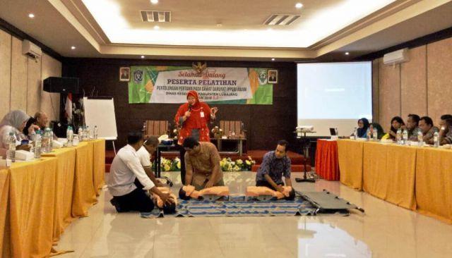 Dinkes Berikan Pelatihan PPGD Ke Komunitas Pemuda di Lumajang
