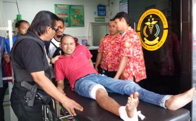 Edi Darsum Abukglubuk Usai Di Door Tim Cobra  Polres Lumajang