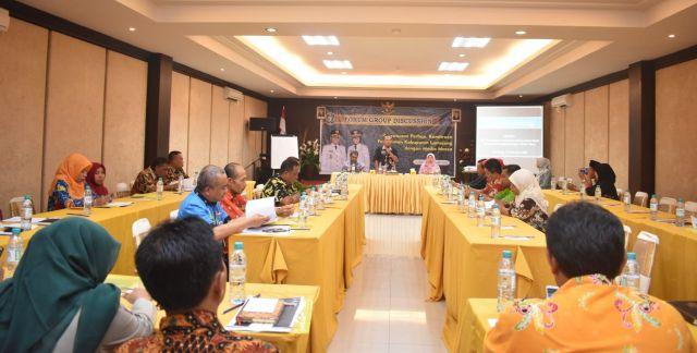 Draf Perbup Kerjasama Media Massa  Digodok OPD Pemkab Lumajang