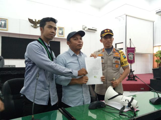 Ketua DPRD Lumajang Dukung Perjuangan Mahasiswa Tolak RUU KUHP dan KPK