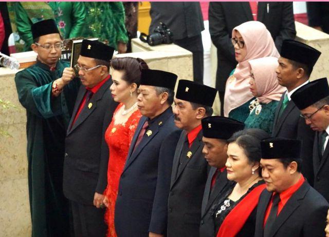 Selamat..! Hari Putri Lestari Dilantik Jadi Wakil Rakyat Jatim