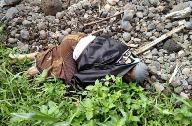 Gegerken Warga, Mayat Berjaket SCTV Tergeletak di Sungai Kali Pancing