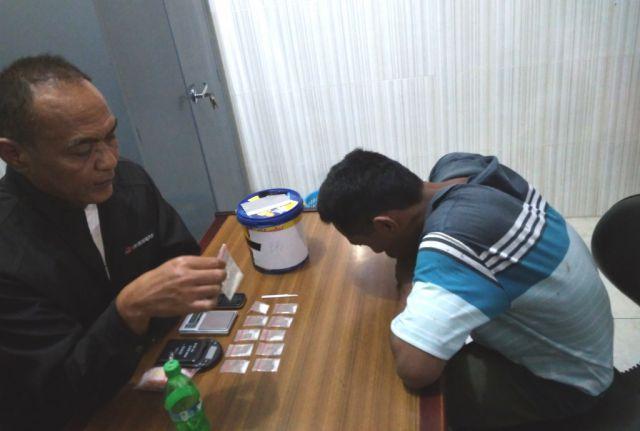 Jadi Penjual Sabu, Safi'i Warga Sukosari-Jatiroto Terciduk