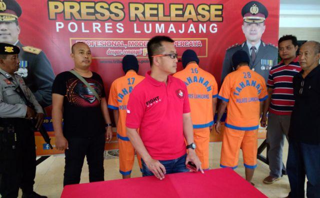 Nyulik Anak, 3 Warga Jawa Tengah Ditangkap Polres Lumajang