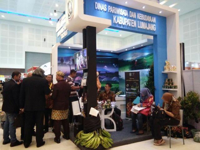 Wow..!! 3 Destinasi Wisata Lumajang Isi Pameran Majapahit Travel Fair 2017