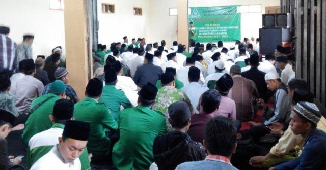 Siap Gelar Konfercab, PAC Ansor se-Lumajang Dilantik