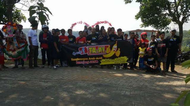 Halal bi Halal di Bukit Cinta, Grup FB TA-AL Promosikan Wisata Ranu Bedali