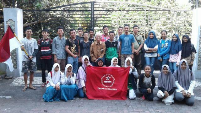 Kenang Jasa Pahlawan, GSNI Lumajang Gelar Napak Tilas Perjuangan Kyai Ilyas