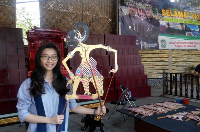 HUT ke-2 Museum Daerah Lumajang, Sanggar Gubug Mojokerto Pamerkan Wayang Kardus