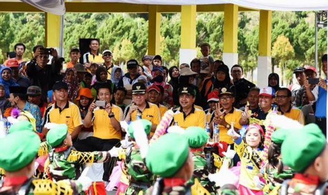 Libatkan 7.500 Atlet dan Official, Bupati Lumajang Buka Secara Resmi Piala KONI 2017