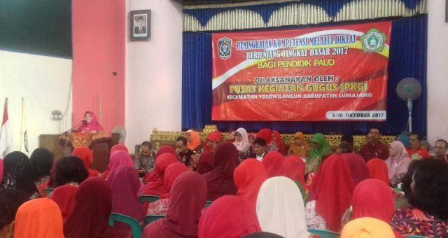 Tingkatkan Kompetensi Guru PAUD, PKG Gelar Diklat Berjenjang Tingkat Dasar