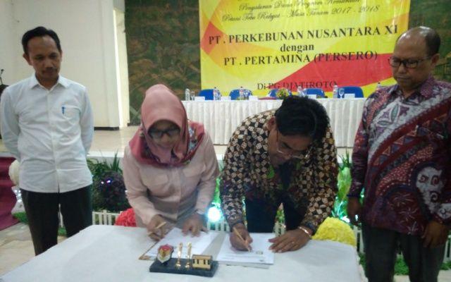 Sinergi Pertamina dan PTPN XI, Salurkan Dana Kemitraan Bagi 3.400 Petani Tebu PG Jatiroto