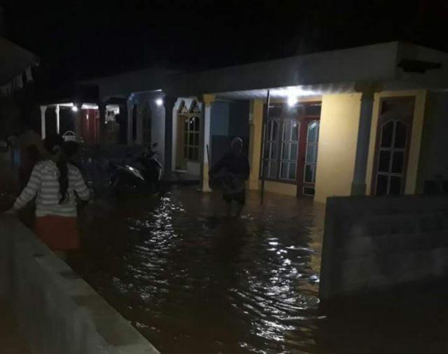 Hujan Deras, 41 Rumah di Kutorenon Terendam Banjir Sungai Cangkring