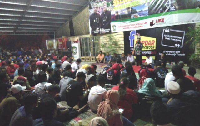 #yukbijakbermedsos, Kopdar Grup FB Lumajangsatu dan Isu Terviral di Lumajang