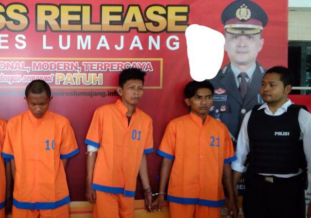 Akun Pecah Pendosa Anggota  Grup Lumajangsatu Terciduk Jadi Kawanan Begal Sadis