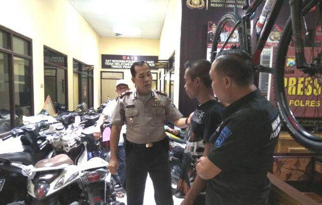 Penangkapan Maling Sepeda Motor di Tengah Sawah Desa Jatiroto Viral di Media Sosial