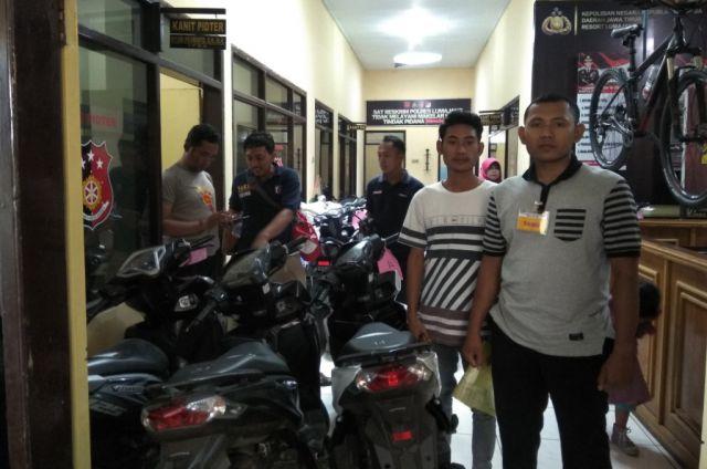 Korban Datang ke Polres Melihat Sepeda Hasil Ungkap Pelaku Begal Sadis
