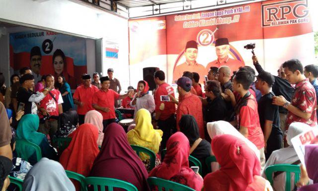 Sapa Warga Lumajang, Seribu Dewi Jadi Program Gus Ipul-Mbak Puti