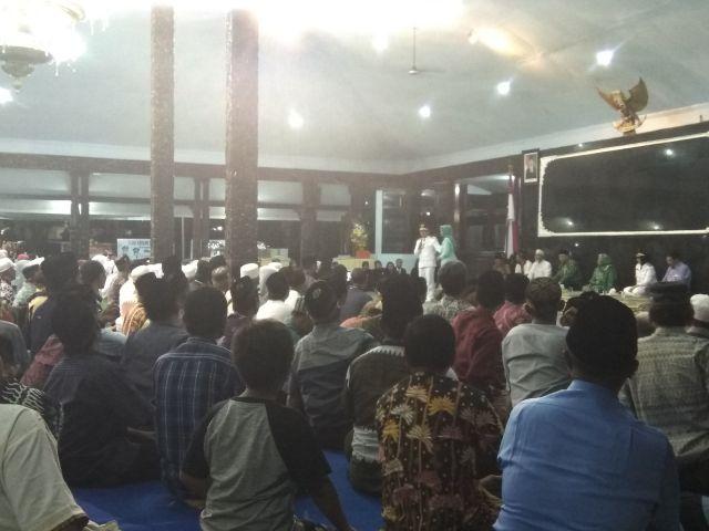 Cak Thoriq Jadi Warga Ditotrunan dan Siap Ikut Pengajian  Kampung