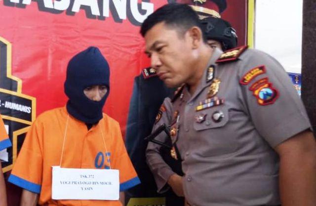 DPO Jagal Mobil Jember dan Bondowoso Diringkus Tim Cobra Lumajang