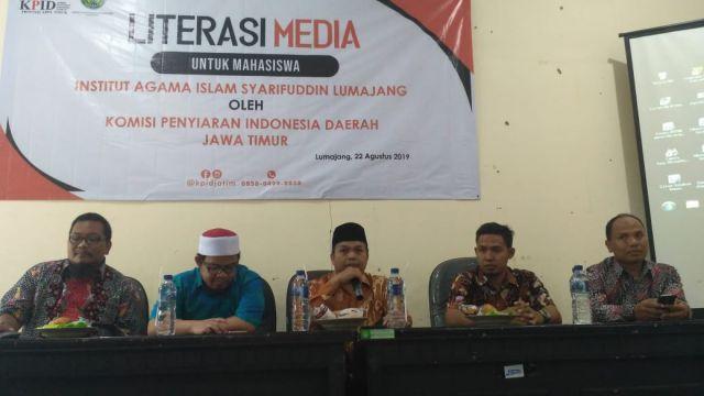 Mahasiswa FDKI IAI Syarifuddin Diajak Awasi Penggunaan Frekuensi Publik Oleh Lembaga Penyiaran