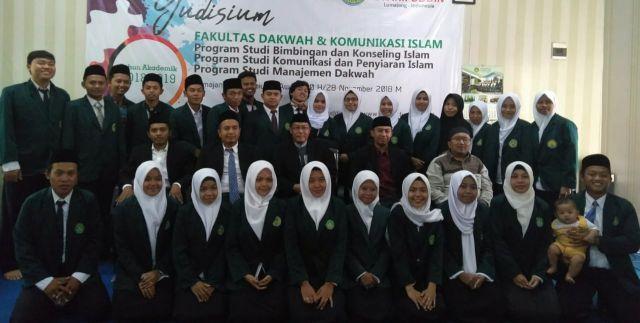 Fakultas Dakwah dan Komunikasi Islam IAIS Yudisium 30 Calon Wisudawan