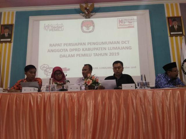 KPU Lumajang Ajak Wartawan Publikasikan DCT Pemilu 2019