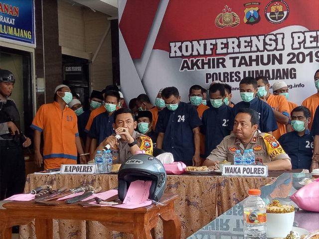 AKBP Ade Wira : Angka Kriminalitas 2019 di Lumajang Turun Drastis