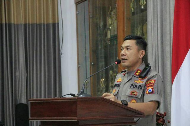 Polres Lumajang Patroli Malam Sajam Jelang Pilkades Serentak